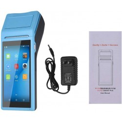 Aibecy - Impresora portátil multifunción PDA con terminal POS inteligente, inalámbrica