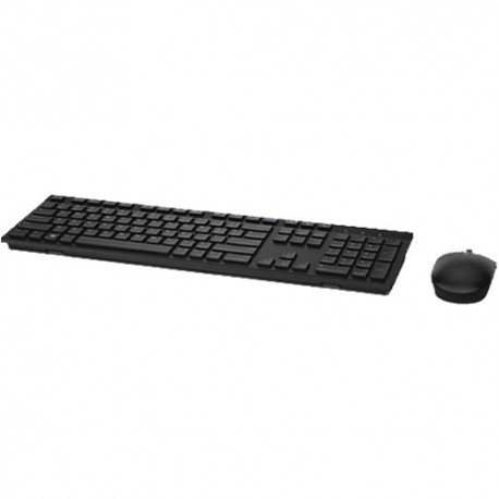 Teclado y mouse inalámbricos Dell KM636 (negro)