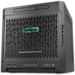 MicroServer Gen10 Tower Server P03698-S01 for Business, AMD Opteron X3421 hasta 3,4 GHz, 8 GB de RAM, sin unidades