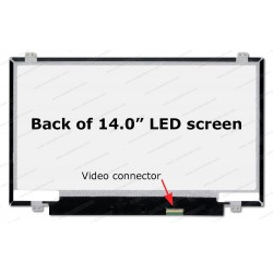 LCD Screen 14.0-inch WideScreen HD (1366x768) Matte 30 pin izquierdo