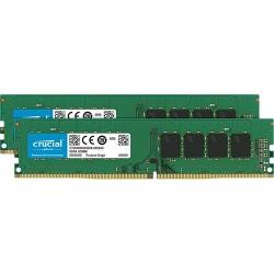 Kit de módulo de memoria DIMM DDR4 2666 MHz Crucial de 16 GB (2 x 8 GB)